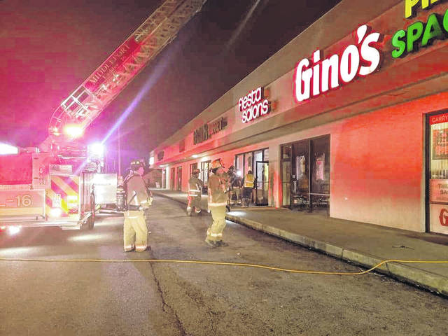 Firemen from the Mason, New Haven, and Middleport fire departments were called to the scene of a stove fire at the Peking Buffet restaurant on Gander Lane in Mason Thursday evening. Because the restaurant is located in the strip mall near Walmart, four stores received light to moderate smoke damage, according to a spokesman from the Mason Volunteer Fire Department.