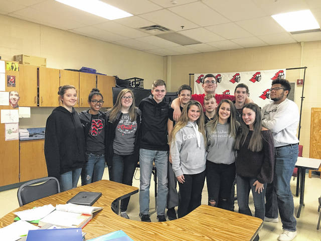 Pictured are the students of Point Pleasant Live at PPJ/SHS. Students record several events within their school such as sporting events, assemblies, graduation, class night, and school wide public service announcements.