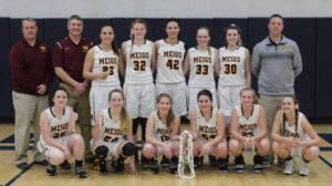 Lady Marauders win sectional crown