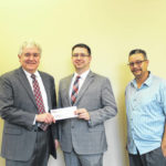 Farmers Bank donates to Historical Society