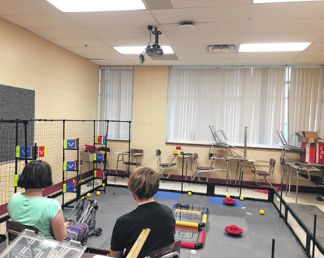 During the PATCH open house, the robotics class will have their VEX Robotics competition robot with them, so individuals will be able to see how it works when its on the field.