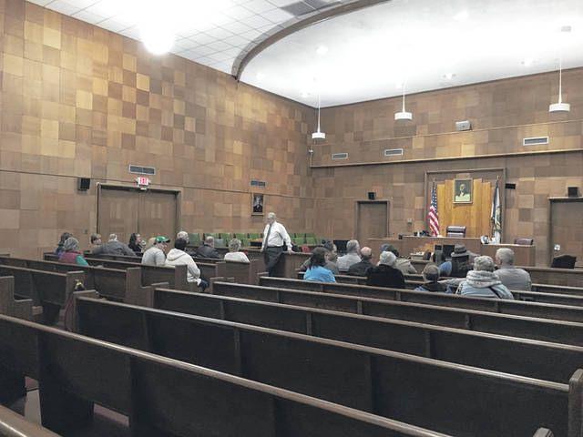 An informational meeting was recently held at the Mason County Courthouse regarding the possibility of bringing a public transportation system to the county.