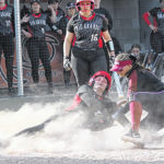 RedStorm softball salvages split with Racers