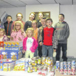 Leon Luckies host food drive