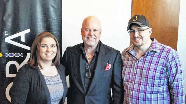 Local Entrepreneurs Curry and Jennifer Russell, pictured far right and far left, were recently recognized as two of the top 20 sales representatives in their company, Uforia Science. Uforia Science is a direct to consumer producer which provides a DNA kit to customers and based on the results a customized supplement is created for the individual. The couple earned a private leadership retreat in Las Vegas, Nevada at the home of professional speaker, trainer and best selling author, Eric Worre. The couple have been with their company for four months and are reported as two of the top producers, leading teams in nearly every state in the United States and each province in Canada. In November the couple, who are from Mason County, will also be taking their family on a paid for cruise to the Caribbean thanks to the second bonus prize provided by the company this year.