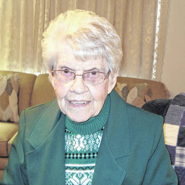 Virginia Ruth Kinnaird of Gallipolis Ferry, pictured, recently celebrated her 95th birthday.