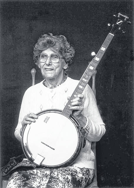 Pictured is traditional musician Phoeba Cottrell Parsons.