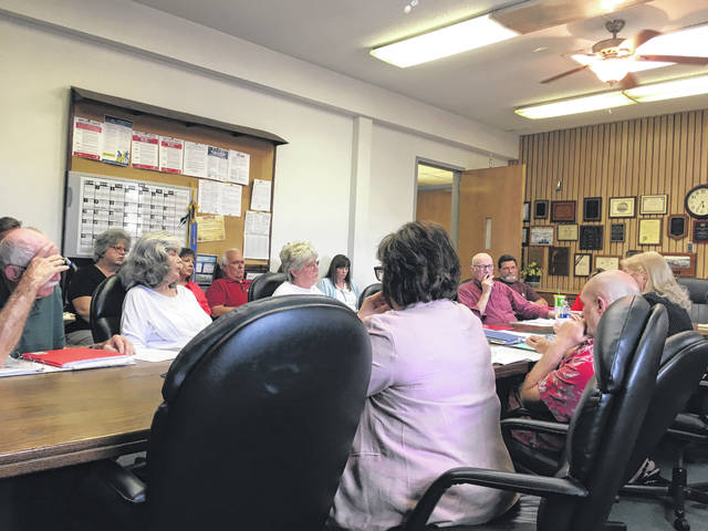 The Historic Landmark Commission members deliberating about which direction to go regarding the fate of the Point Pleasant River Museum and Learning Center.