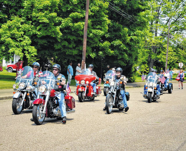 The American Legion Post Riders are pictured here kicking off the annual Memorial Day Parade organized by the AMVETS Post #2 in downtown Point Pleasant last year.
