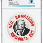 New batch of Neil Armstrong lunar landing artifacts up for auction