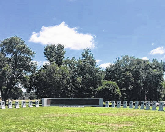 The Traveling World War II Memorial will be at the Letart Nature Park Memorial Day weekend.