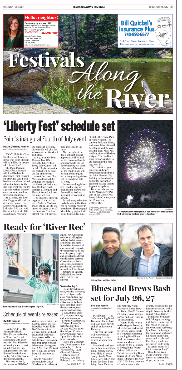 Festivals Along the River 2019 - The Point Pleasant Register