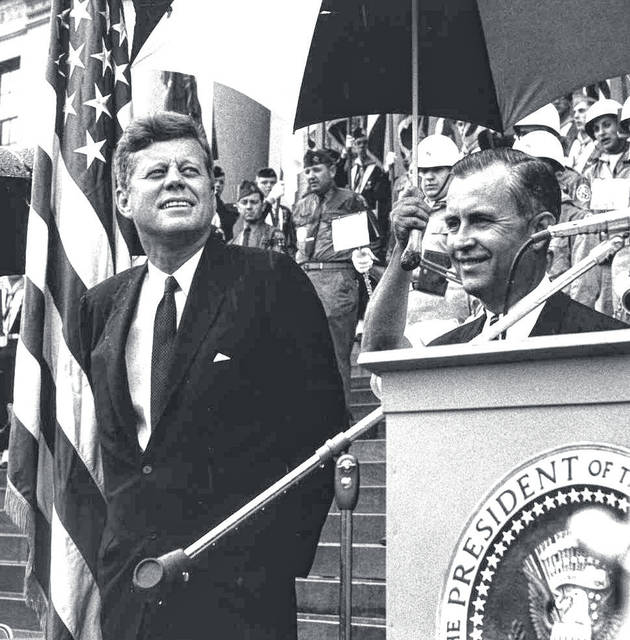 On the 100th birthday of West Virginia, President John F. Kennedy made his last appearance in West Virginia.