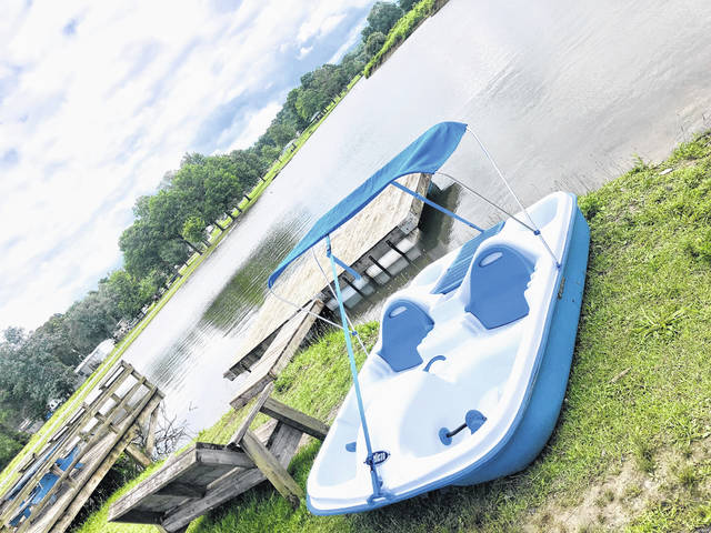 Pedal boats, an old favorite, returns to Krodel Park - The