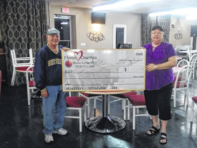 The last charity bingo night was held to support The Mason County Action Group, Inc. (MCAG) senior services, $1,100 was raised all together and an additional $200 was raised in supplies and bingo prizes.