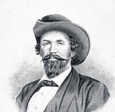 """Known as the """"Thunderbolt of the Confederacy"""" and remembered as the ideal of the romantic Southern cavalryman, general John Hunt Morgan."""