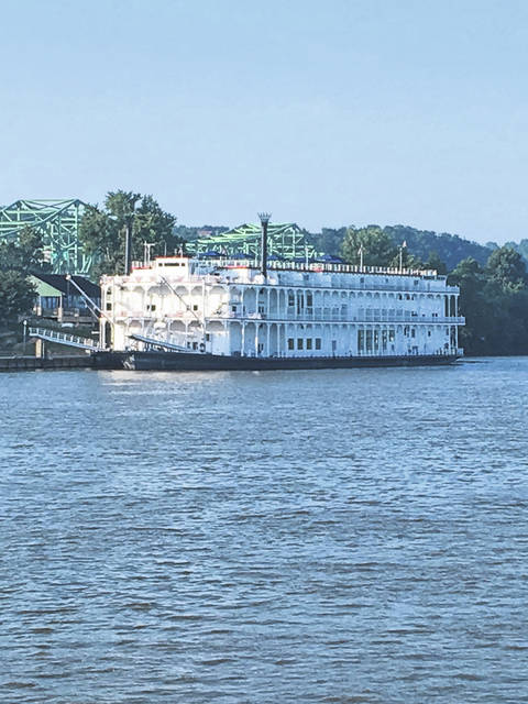 The American Duchess docked at the Riverfront Park and the passengers were able to explore the city on Friday.
