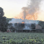 Fire at former school investigated
