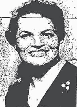 Spencer's portrait as printed in the Sunday Times-Sentinel, December 4, 1983, upon being elected to Cincinnati City Council.
