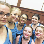 Local dance team places at nationals