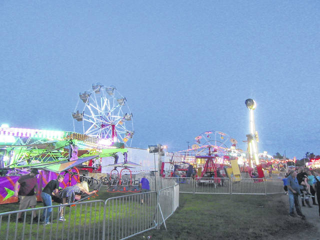 Carnival rides will soon light up the Meigs County Fairgrounds for the 156th Meigs County Fair.