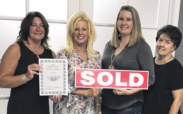 "Angie Cline Zimmerman, Jade Schultz, Fern O'Neil all formerly of Exclusive Realty, and Kathleen Miller of Exclusive Realty, would like to personally thank all of you, especially our clients and customers who voted us ""Realtor of the Year"" for Mason County. According to the group, ""we appreciate you and your support."" Pictured from left, are Kathleen Miller, Angie Cline Zimmerman, Jade Schultz and Fern O'Neil."