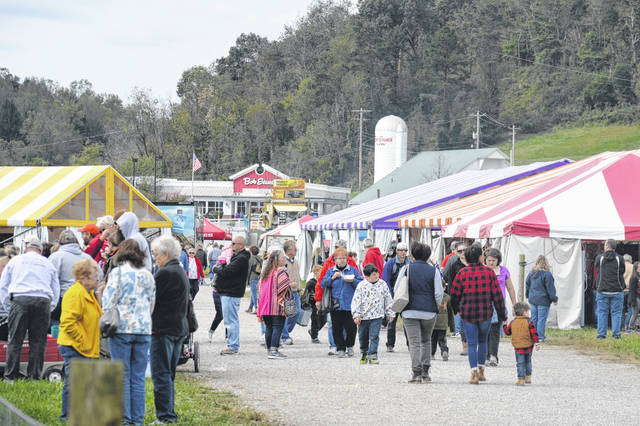 Thousands come to the Bob Evans Farm Festival every year.