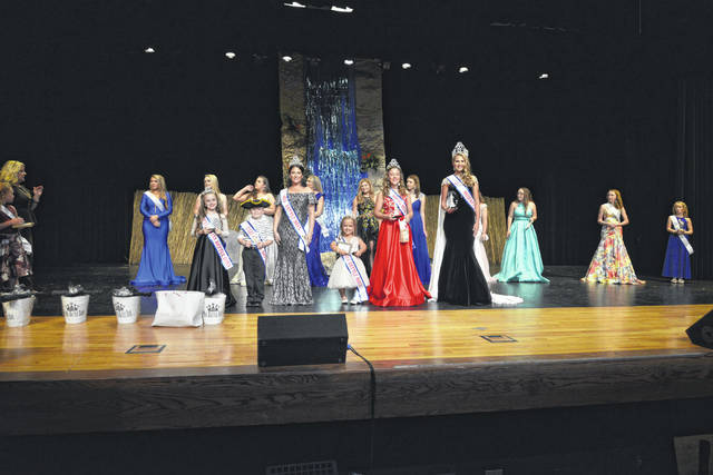The 2019 Battle Days Royalty being crowned Sunday during the Battle Days Pageant.