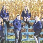 Newly elected FFA officers