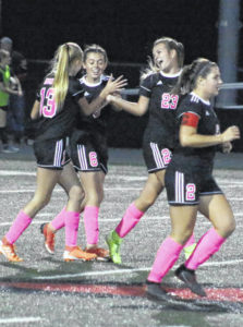 Lady Knights edge Lincoln County, 1-0