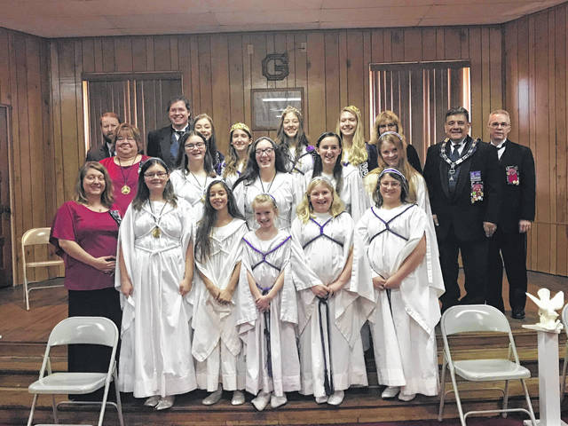 The Job's Daughters International Bethels #62 of Middleport and #65 of Belpre recently held their Official Visit for 2019.
