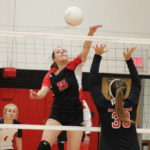 Lady Knights roll in tourney opener