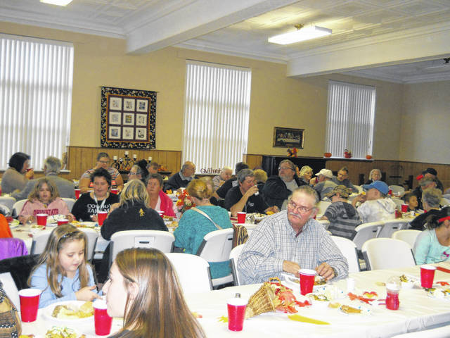 Hundreds of people come out each year to enjoy a homemade Thanksgiving meal at Point Pleasant Presbyterian Church.