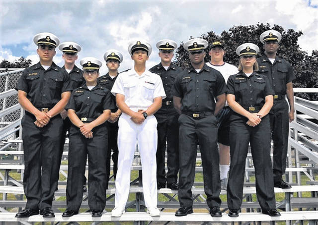 Pictured front row, far left, Blayne Lee Butler of Gallipolis Ferry. Butler was nominatead by U.S. Senator Shelley Moore Capito for the U.S. Naval Academy.