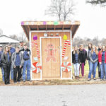 FFA students build gingerbread house for Krodel