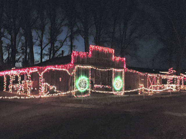 The annual Christmas lights display at the West Virginia State Farm Museum returns Dec. 6.