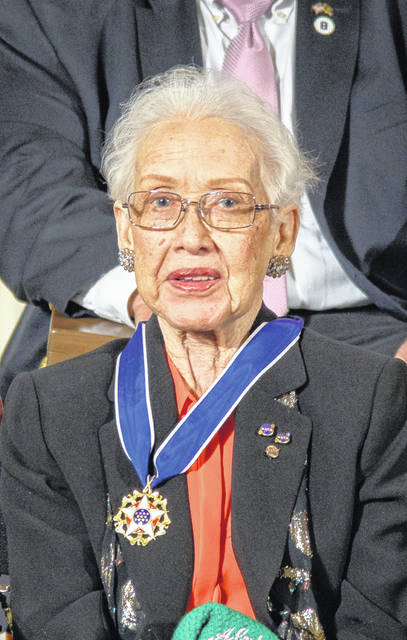 Katherine Johnson received the Presidential Medal of Freedom from Barack Obama.
