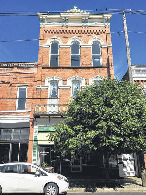 A look at 510 Main Street from this summer. The building is now home to the Point Pleasant Register on the first floor.