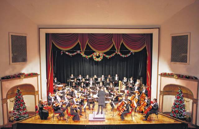 Maestro Steven Huang will lead the Ohio Valley Symphony as part of this year's Christmas concert.