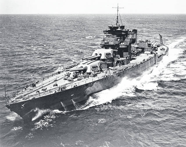 The Japanese attacked Pearl Harbor. The USS West Virginia suffered massive damage.