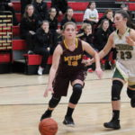 Lady Marauders push past Athens, 51-43