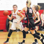 Lady Pioneers roll past Point, 59-27