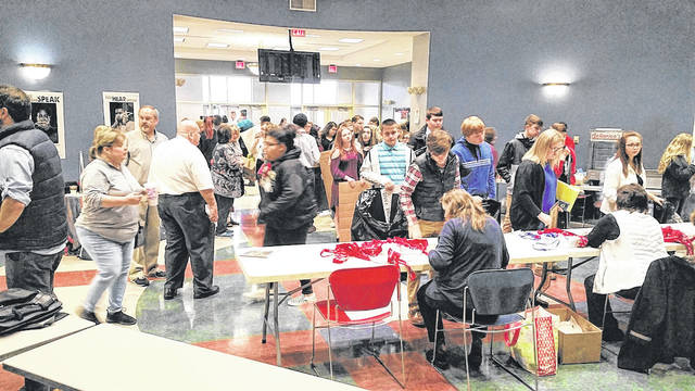The Region 9 Ohio History Day Contest will make a return to the University of Rio Grande and Rio Grande Community College for the second year on March 7, 2020. Pictured is a scene from last year's event. Registration is open now.