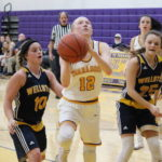 Southern sweeps Lady Rockets, 50-44