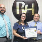 Tolliver named PVH Employee of the Month