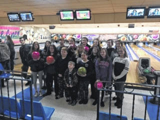 The Haer Bears 4-H club went bowling on Jan. 19.