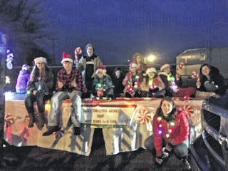 The Haer Bears 4-H Club participated in the Point Pleasant Christmas Parade on Dec. 6, 2019.