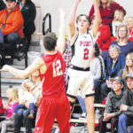 Point rolls past White Falcons, 75-48
