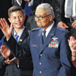 Tuskegee Airman's visit remembered