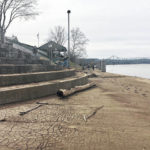 A riverfront cleanup